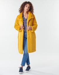 Textil Ženy Kabáty S.Oliver 05-009-52 Žlutá