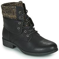 Boty Ženy Kotníkové boty Spot on F50613 Černá
