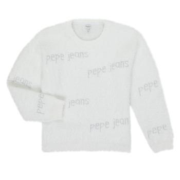 Textil Dívčí Svetry Pepe jeans AUDREY Bílá