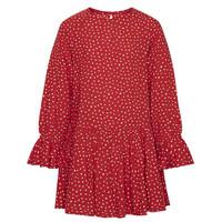 Textil Dívčí Krátké šaty Pepe jeans CATY Červená