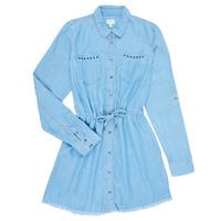 Textil Dívčí Krátké šaty Pepe jeans ZOEY Modrá