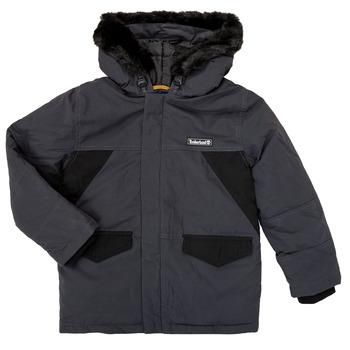 Textil Chlapecké Parky Timberland T26525 Šedá