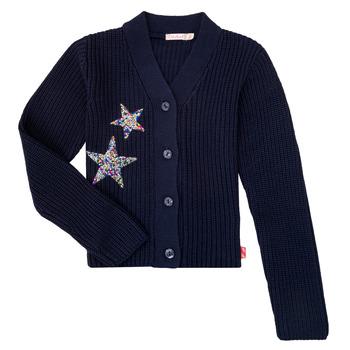 Textil Dívčí Svetry / Svetry se zapínáním Billieblush / Billybandit U15758 Modrá