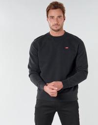 Textil Muži Mikiny Levi's NEW ORIGINAL CREW Černá