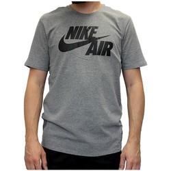Textil Muži Trička s krátkým rukávem Nike Air Tee Šedé