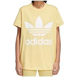 Textil Ženy Trička s krátkým rukávem adidas Originals Originals Big Trefoil Béžové