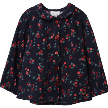 Textil Dívčí Halenky / Blůzy Carrément Beau Y95234 Modrá