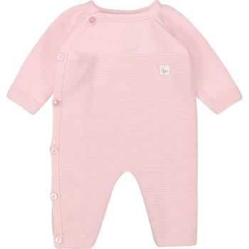 Textil Dívčí Overaly / Kalhoty s laclem Carrément Beau Y94184 Růžová