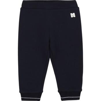 Textil Dívčí Kapsáčové kalhoty Carrément Beau Y94200 Modrá