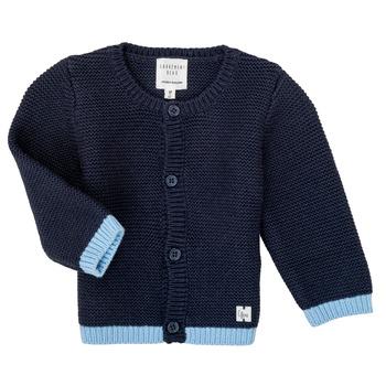 Textil Dívčí Svetry / Svetry se zapínáním Carrément Beau Y95230 Modrá