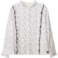 Textil Dívčí Halenky / Blůzy Carrément Beau Y15356 Bílá