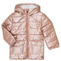 Textil Dívčí Prošívané bundy Carrément Beau Y16085 Růžová