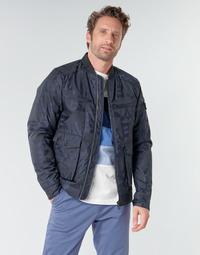 Textil Muži Bundy Scotch & Soda JACQUARD BOMBER Tmavě modrá