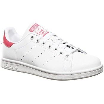 Boty Děti Nízké tenisky adidas Originals Stan Smith J Bílé