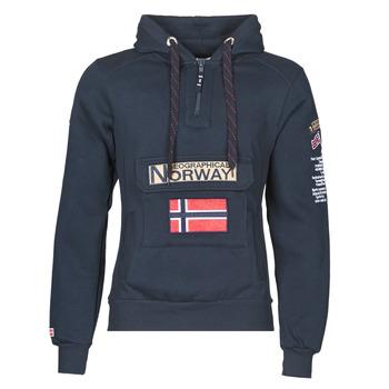 Textil Muži Mikiny Geographical Norway GYMCLASS Tmavě modrá