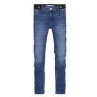 Textil Dívčí Rifle skinny Calvin Klein Jeans IG0IG00639-1A4 Modrá