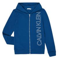 Textil Chlapecké Mikiny Calvin Klein Jeans IB0IB00668-C5G Modrá
