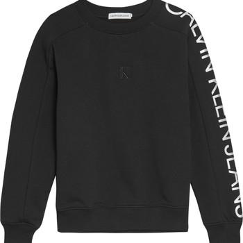 Textil Dívčí Mikiny Calvin Klein Jeans IG0IG00691-BEH Černá
