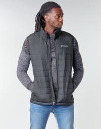 Textil Muži Prošívané bundy Columbia POWDER LITE VEST Černá