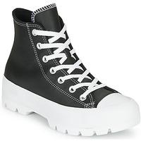 Boty Ženy Kotníkové tenisky Converse Chuck Taylor All Star Lugged - Foundational Leather Černá
