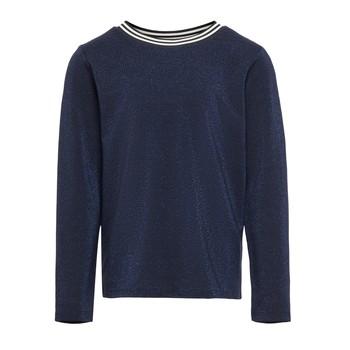 Textil Dívčí Trička s dlouhými rukávy Only KONATHEA Tmavě modrá