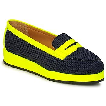 Boty Ženy Mokasíny MySuelly VALENTINE Černá / Žlutá