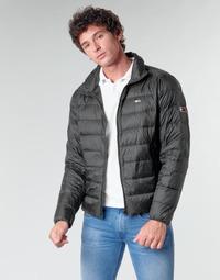 Textil Muži Prošívané bundy Tommy Jeans TJM PACKABLE LIGHT DOWN JACKET Černá