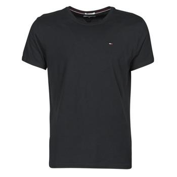 Textil Muži Trička s krátkým rukávem Tommy Jeans TJM ORIGINAL JERSEY TEE Černá