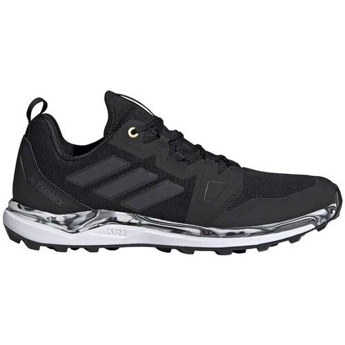 Boty Muži Běžecké / Krosové boty adidas Originals Terrex Agravic Bílé, Černé