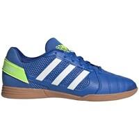 Boty Děti Fotbal adidas Originals Top Sala Bílé, Modré, Žluté