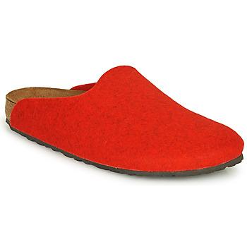 Boty Ženy Pantofle Birkenstock AMSTERDAM Červená