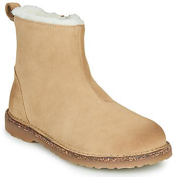 Boty Ženy Kotníkové boty Birkenstock MELROSE SHEARLING Béžová