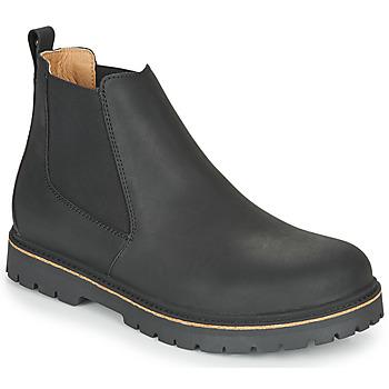 Boty Muži Kotníkové boty Birkenstock STALON Černá