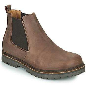 Boty Muži Kotníkové boty Birkenstock STALON Hnědá