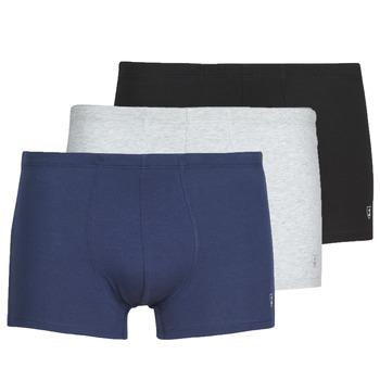 Spodní prádlo  Muži Boxerky Mariner PACK COTON BIO Černá / Tmavě modrá / Šedá