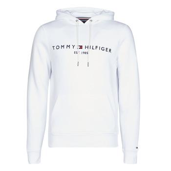 Textil Muži Mikiny Tommy Hilfiger TOMMY LOGO HOODY Bílá