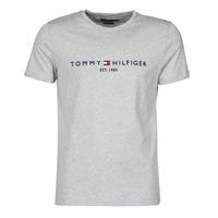 Textil Muži Trička s krátkým rukávem Tommy Hilfiger TOMMY LOGO TEE Šedá
