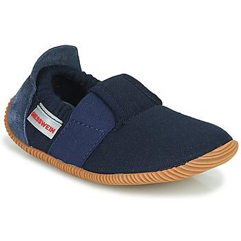 Boty Děti Papuče Giesswein SOLL Tmavě modrá