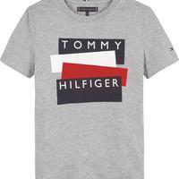 Textil Chlapecké Trička s krátkým rukávem Tommy Hilfiger KB0KB05849-P6U Šedá