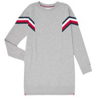 Textil Dívčí Krátké šaty Tommy Hilfiger KG0KG05283-P6U Šedá