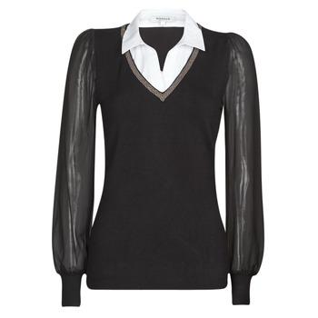 Textil Ženy Svetry Morgan MVANI Černá