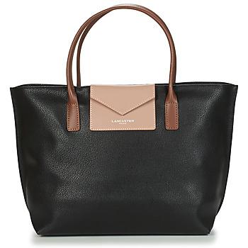Taška Ženy Velké kabelky / Nákupní tašky LANCASTER MAYA Černá