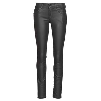 Textil Ženy Rifle slim Pepe jeans NEW BROOKE Černá