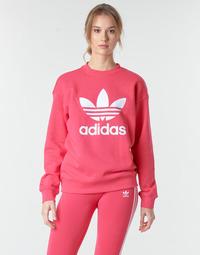 Textil Ženy Mikiny adidas Originals TRF CREW SWEAT Růžová