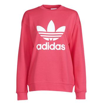 adidas Mikiny TRF CREW SWEAT - Růžová
