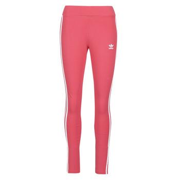 Textil Ženy Legíny adidas Originals 3 STR TIGHT Růžová