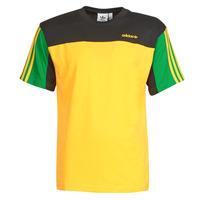 Textil Muži Trička s krátkým rukávem adidas Originals CLASSICS SS TEE Zlatá