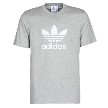 Textil Muži Trička s krátkým rukávem adidas Originals TREFOIL T-SHIRT Šedá