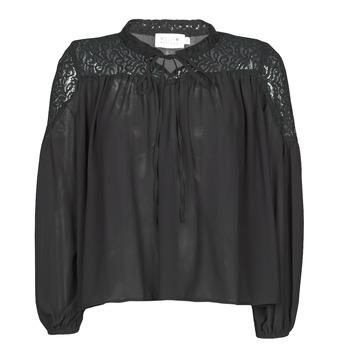 Textil Ženy Halenky / Blůzy Molly Bracken R1521H20 Černá
