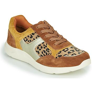 Boty Ženy Nízké tenisky Damart 62328 Béžová / Žlutá